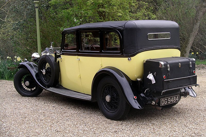 1932 Rolls Royce cabriolet 20/25 by Thrupp & Maberly - near side rear