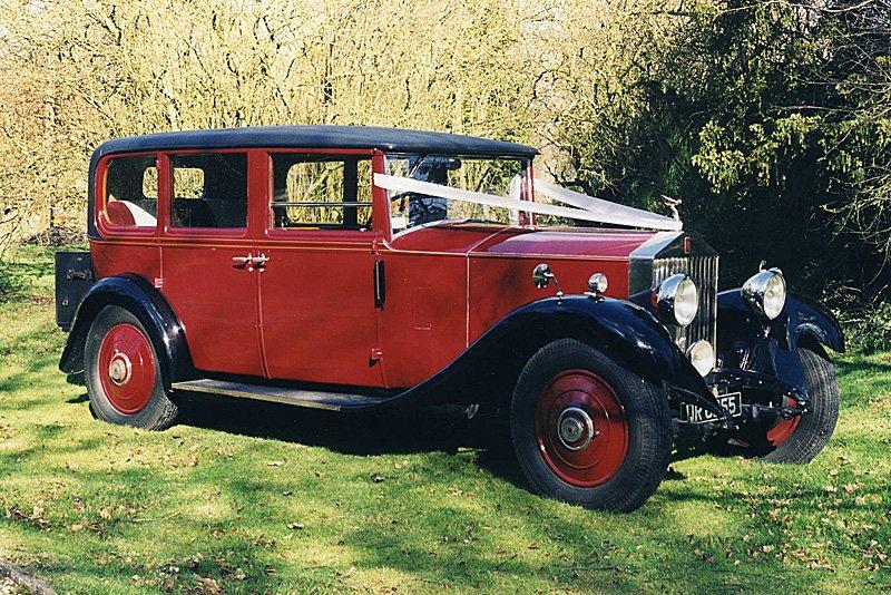 1930 Rolls Royce limousine 20/25 by Park Ward