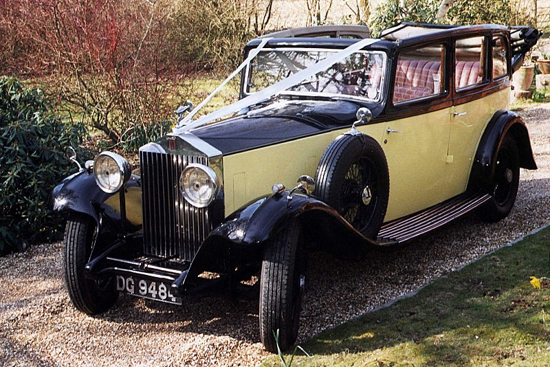 1932 Rolls Royce cabriolet 20/25 by Thrupp & Maberly